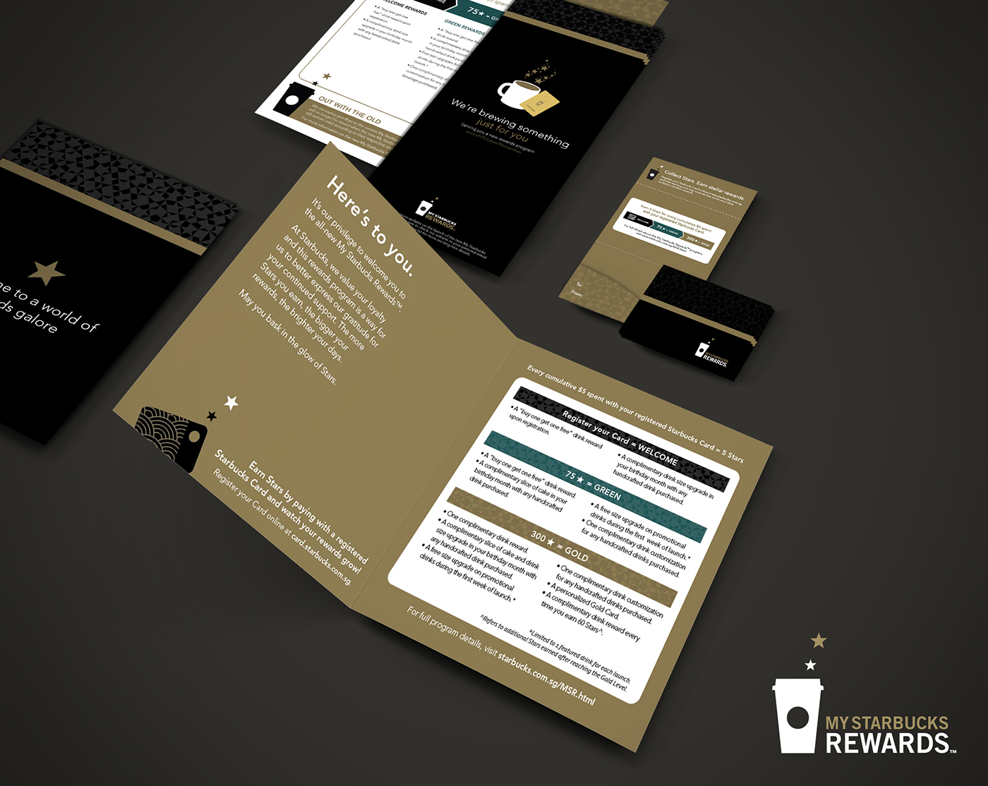 My Starbucks Rewards Sg On Behance