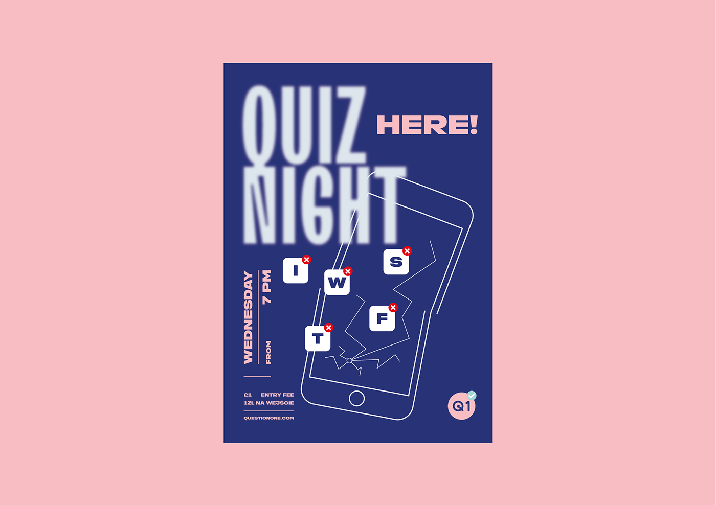 Quiz Night,poster collection,Poster series,trivia,Quiz,typography  ,Layout,science,wisdom