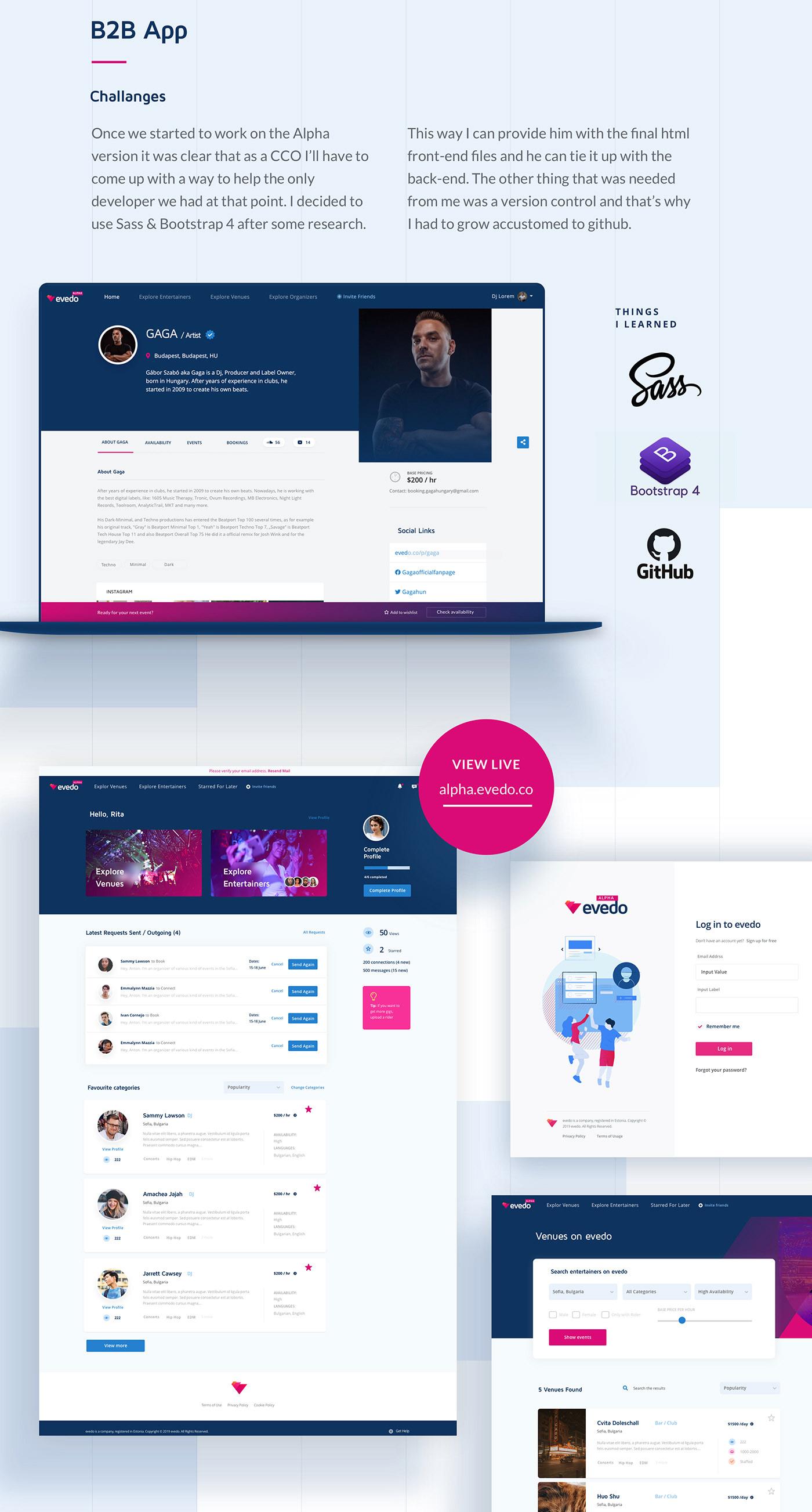 Web Design  blockchain Ico UI ux app crypto SAAS design Startup
