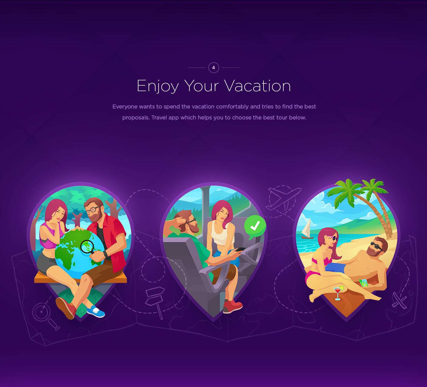 UI ux app Icon logo ios Travel sweet flower calendar