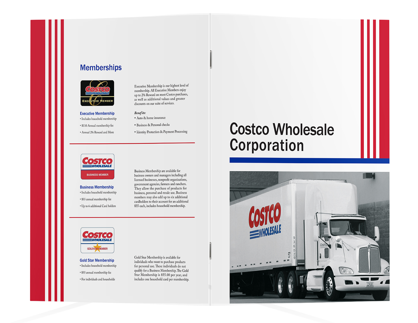 Costco marketing on behance for the cover i wanted to keep it simple with the company name and an image that truly represents the brand the costco trucks colourmoves