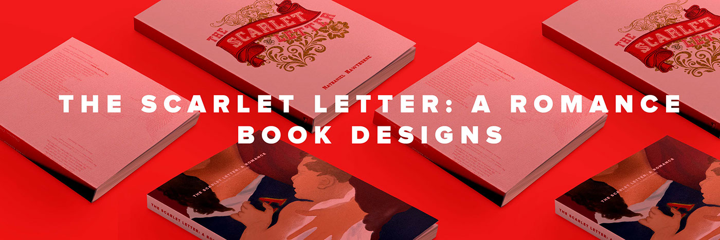 The Scarlet Letter Book Designs On Behance