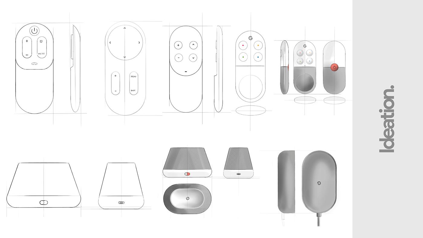 google,chromecast,Google Home,Minimalism,idustrial design,product,design,concept,keyshot