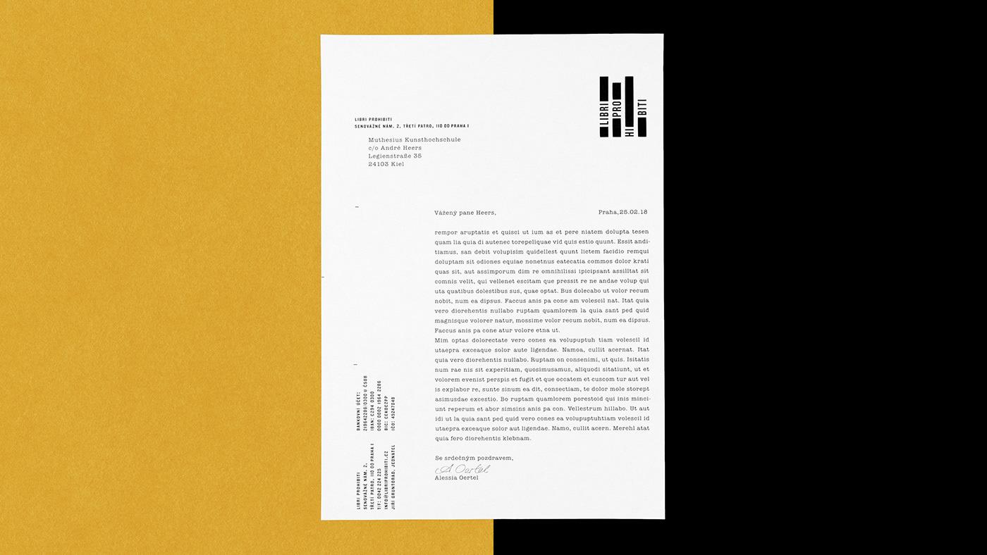 Brand Identity for Libri Prohibiti