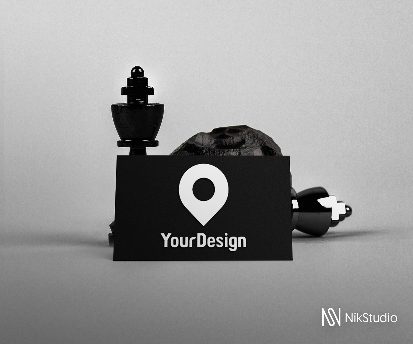 Mockup,free,black,businesscard,download,editable