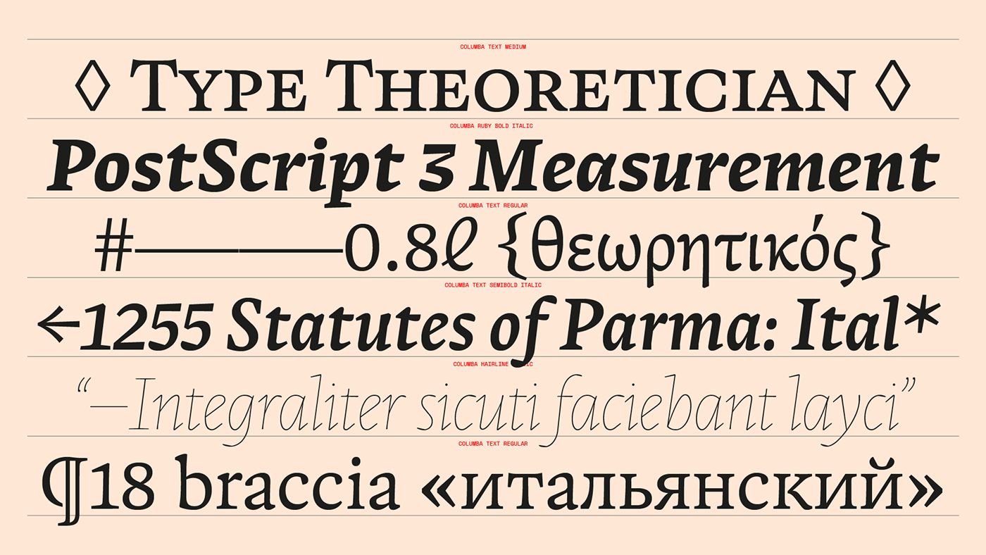 editorial editorial design  font font design publication text font type type design typography