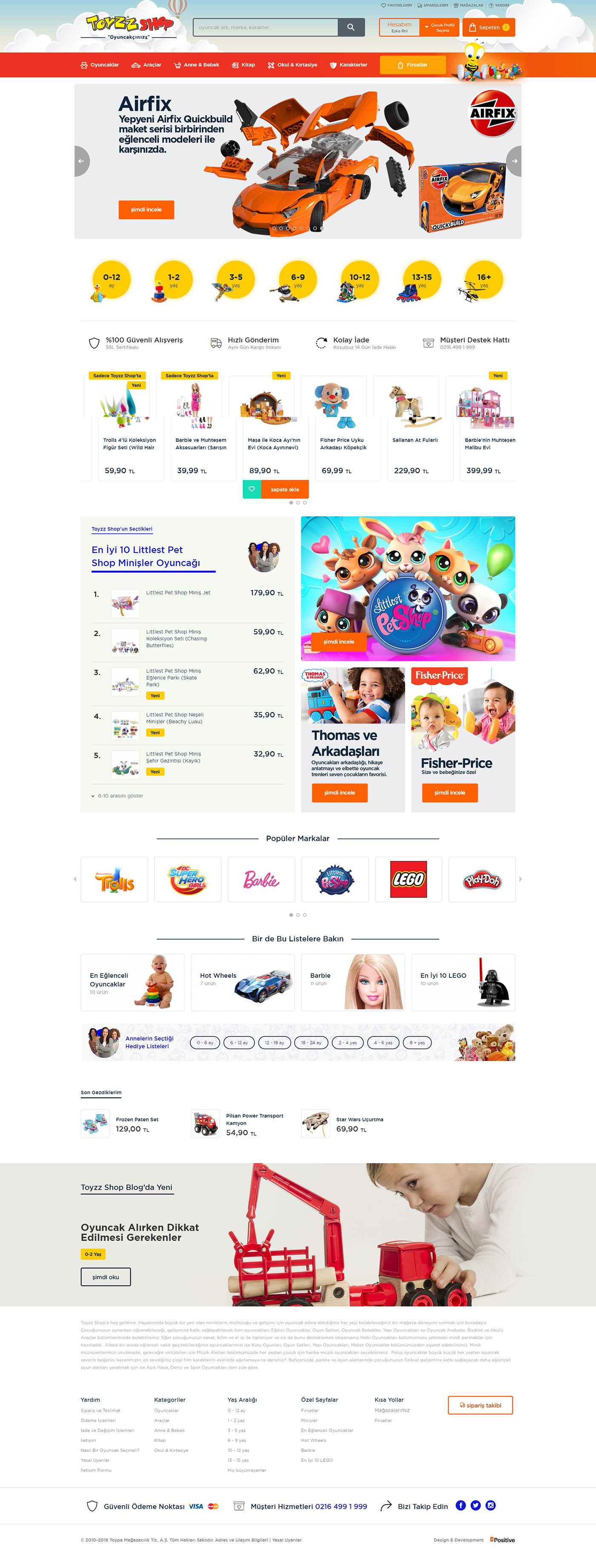 Interface Responsive frontend Web