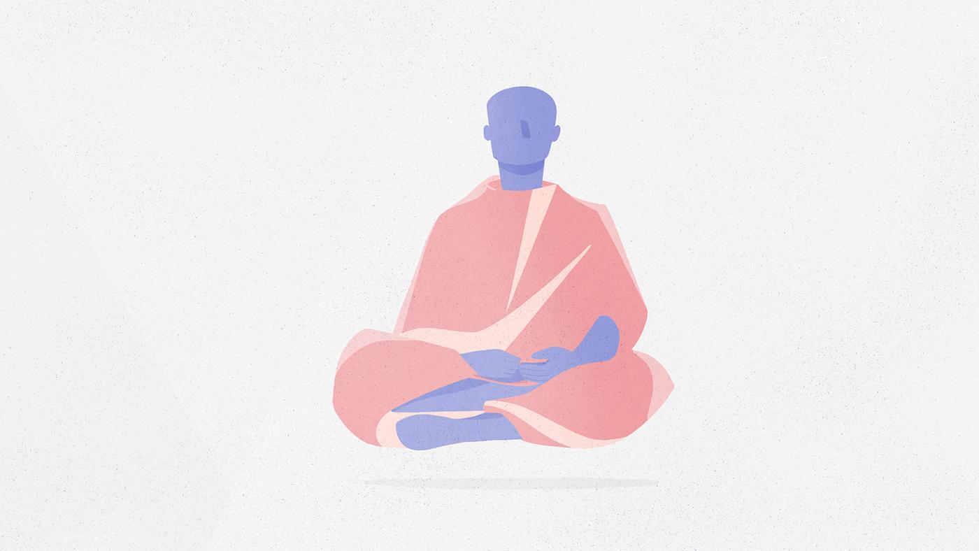 meditation app mindfulness basics introduction animation  Kevin Rose oak