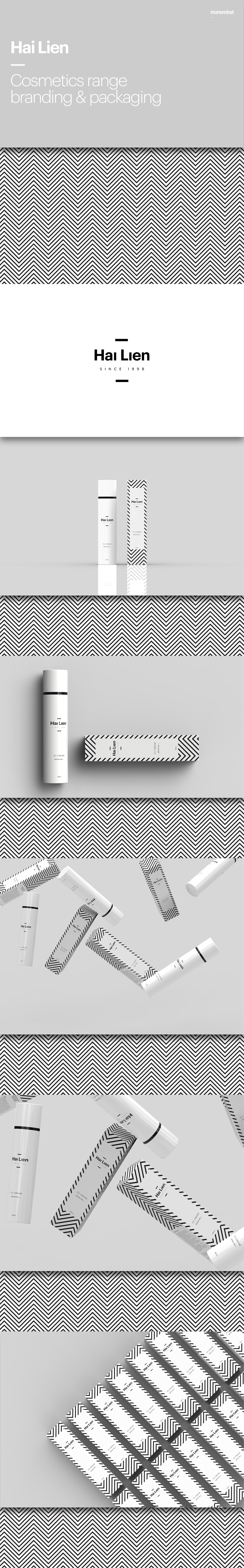 精緻的34套護膚品包裝設計欣賞