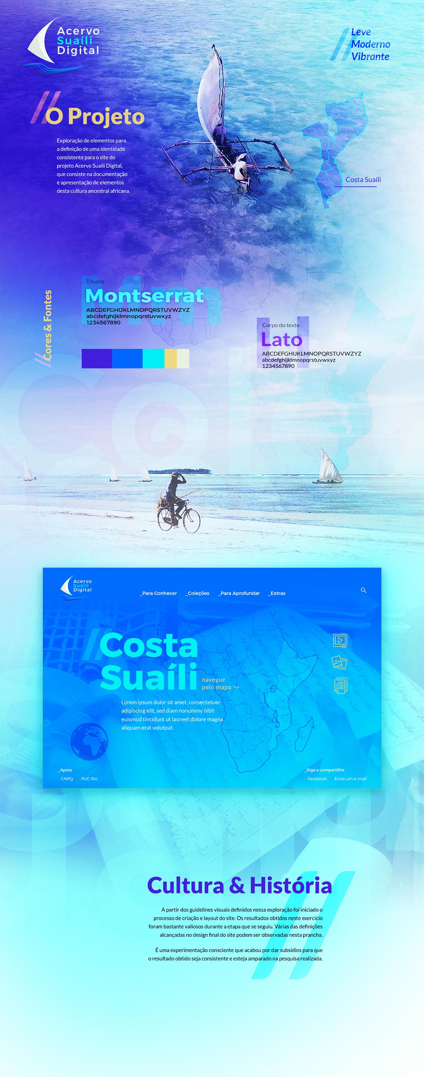 StyleScape moodboard visual identity branding  Swahili graphic design  prototype prototipo