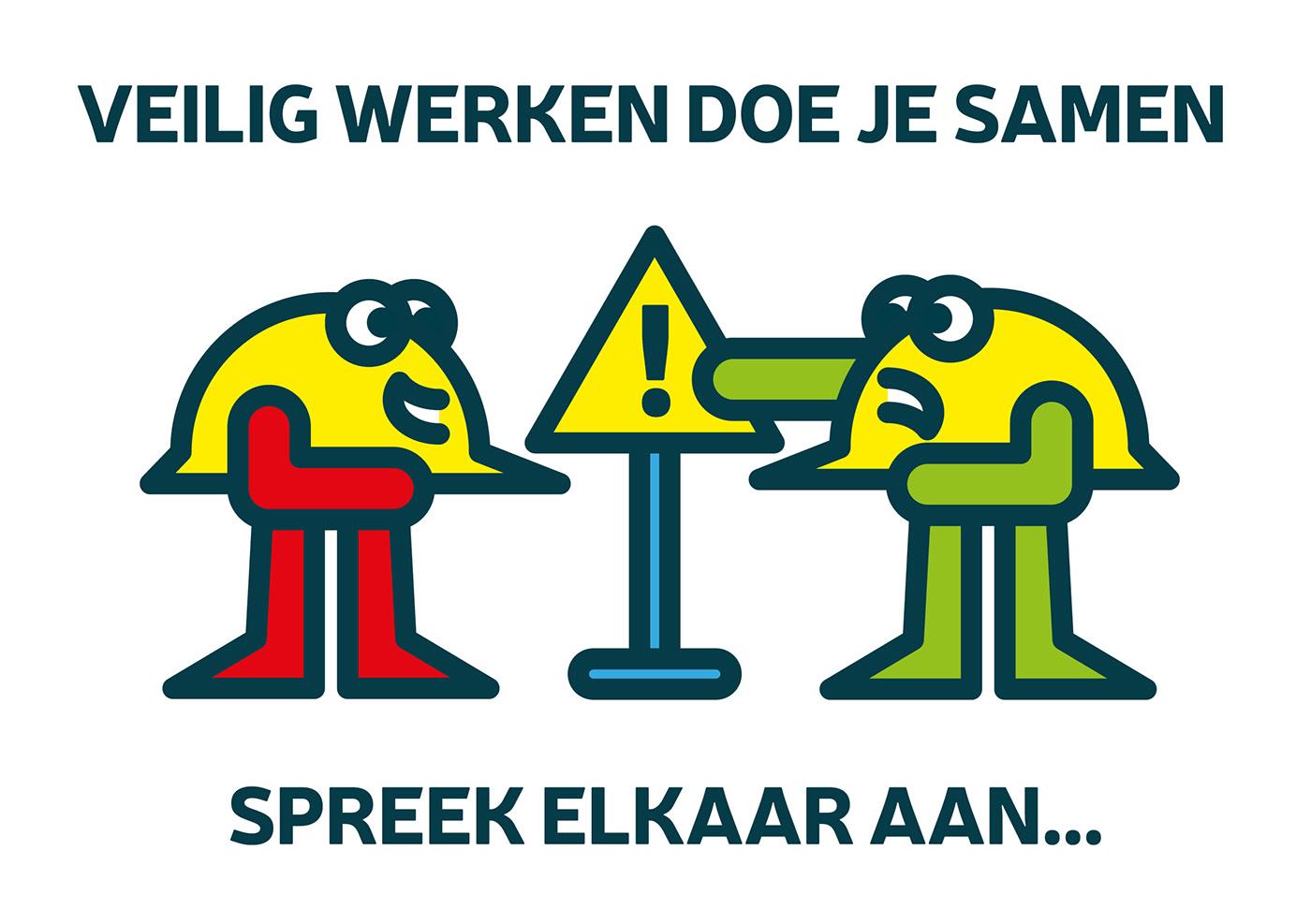 safety Character Internal Communication ILLUSTRATION  advertising property cartoon
