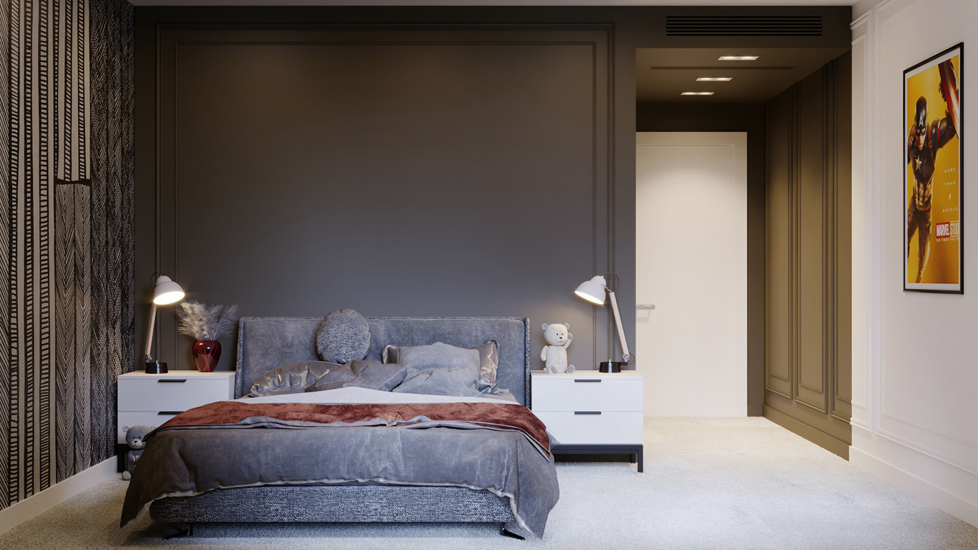 bedroom bucharest design Interior kids