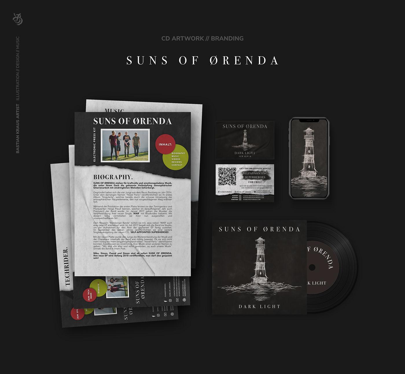 Suns Of Ørenda // CD Artwork