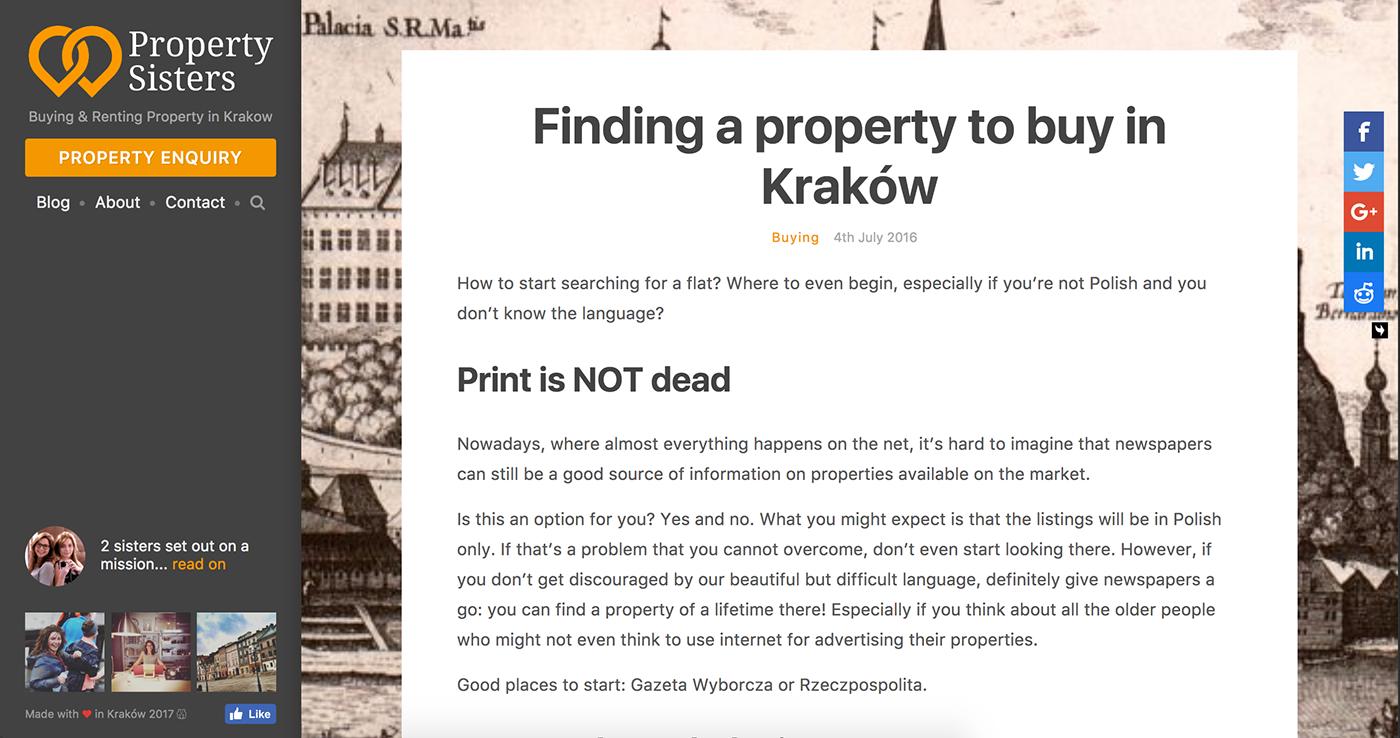 krakow,poland,real estate