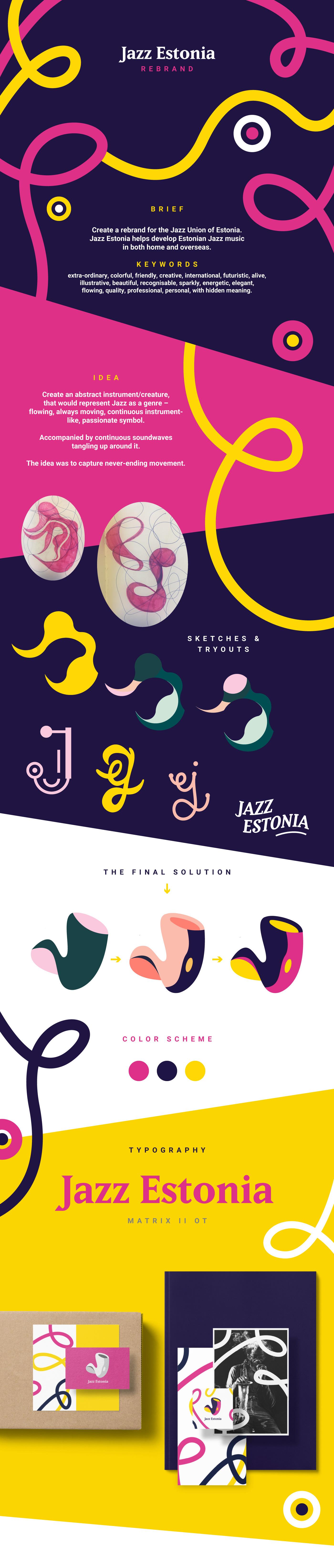 jazz colorful branding  brand Identity Design typography   modern Pop Art Music Branding Logo Design