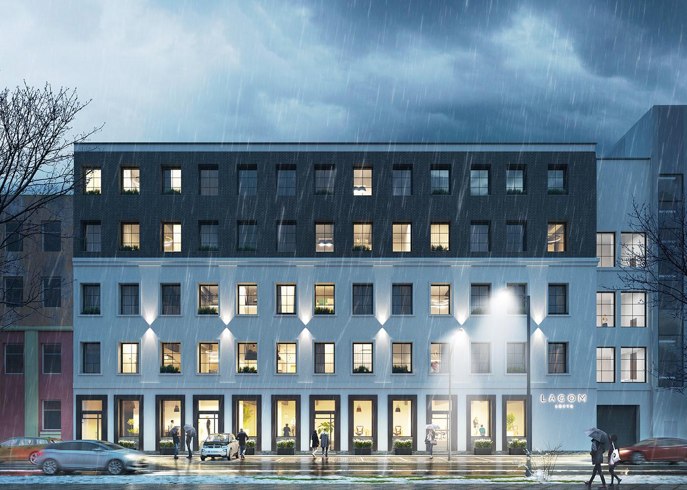 Lagom Sweden norway industrial conversion visualization visualisation winter