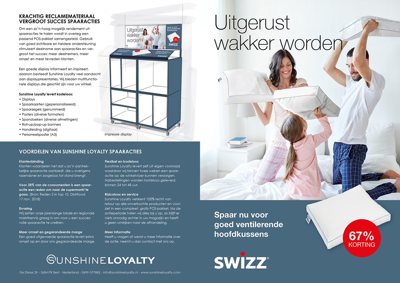bed rebranding SALES PROMOTION Brand activation Loyalty Marketing loyalty