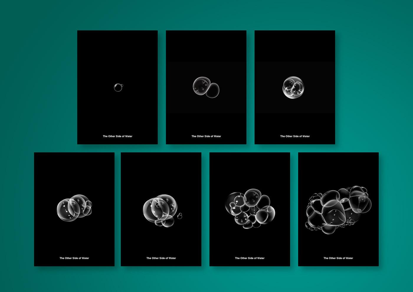 infographic,information,visualization,graphic,book,book design,information design,bubble,fish,pollution