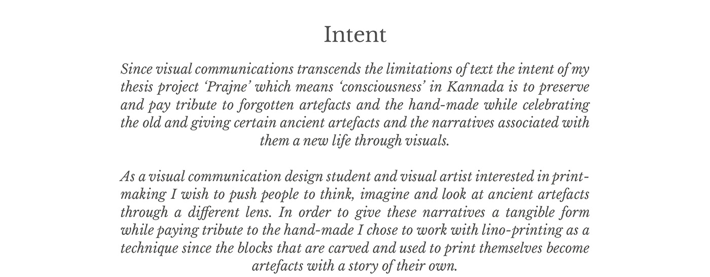 Design Artefacts prajne ~ a tribute to ancient artefacts (thesis) on behance