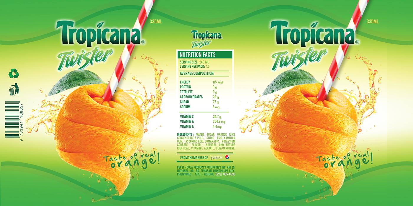 tropicana bottle