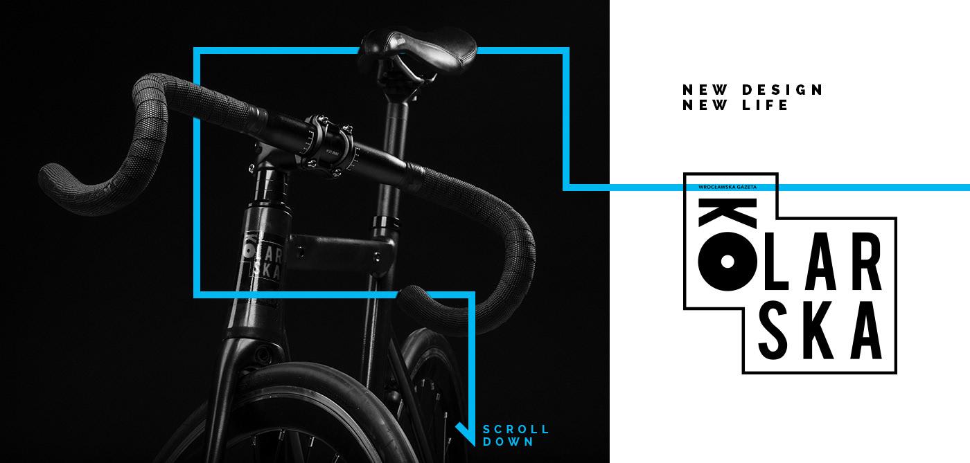 design magazine Cycling logo kolarska brndv brandovo Layout gazeta