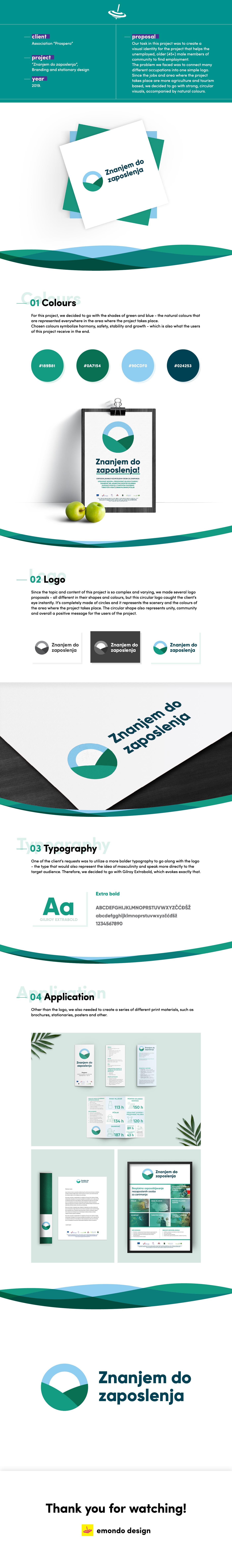 design branding  visual identity emondo design stationary logo EU project graphic design  posters brochure