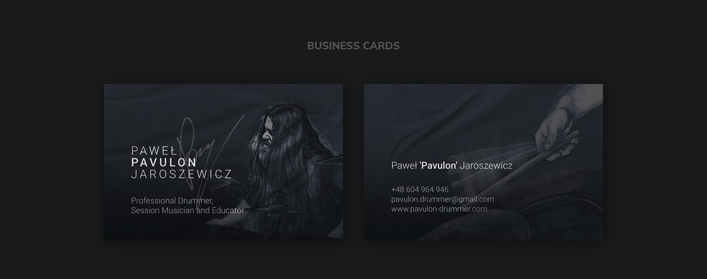 PAVULON // Business Cards