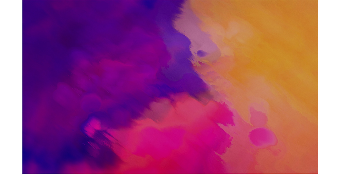 hp Audio painting   UI ux digital Website interactive recording art