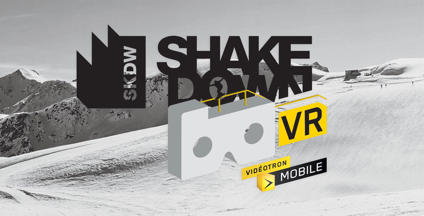 vr snowboard shakedown virtual reality