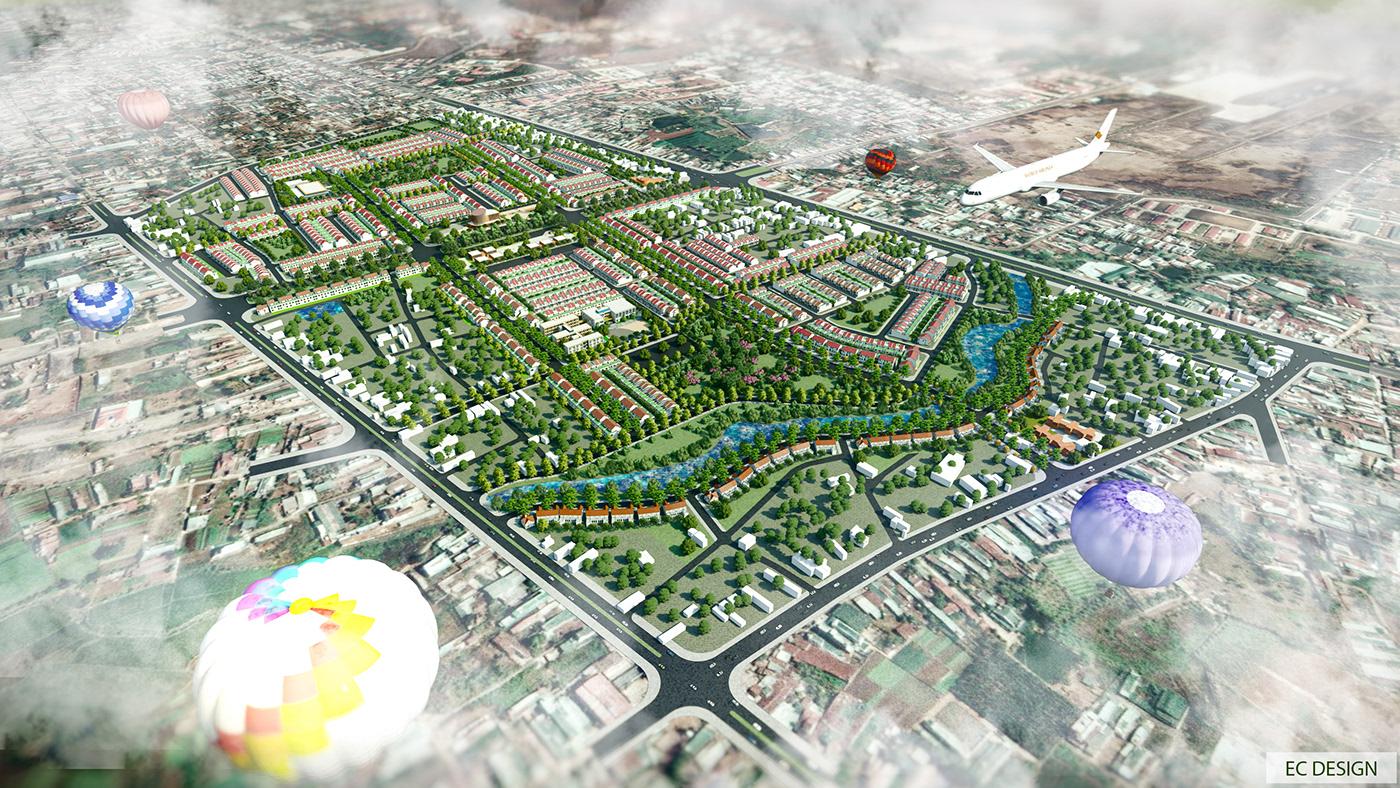 ec design lumion Master Plan Urban Design urban planning