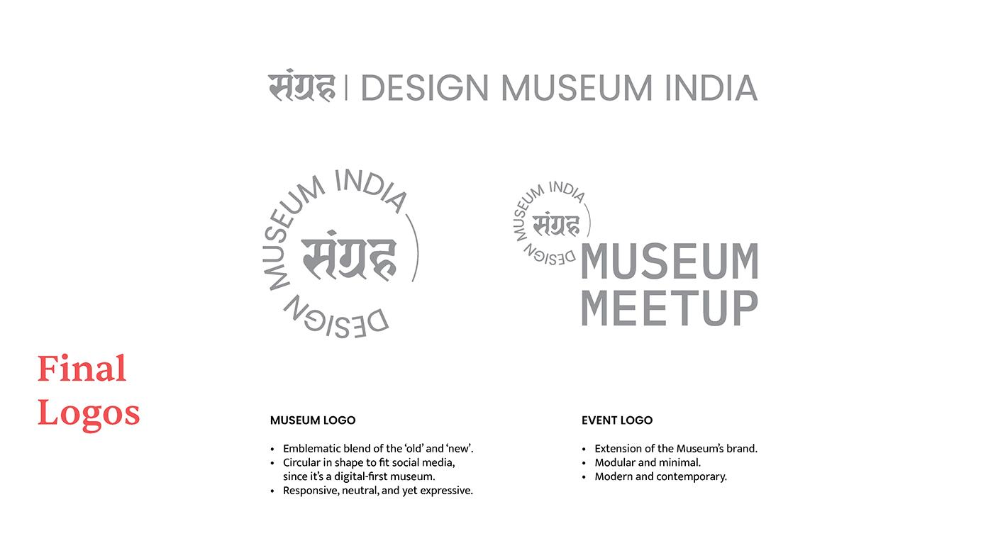 branding  design in india design museum India Design museum Museum Design Virtual Museum