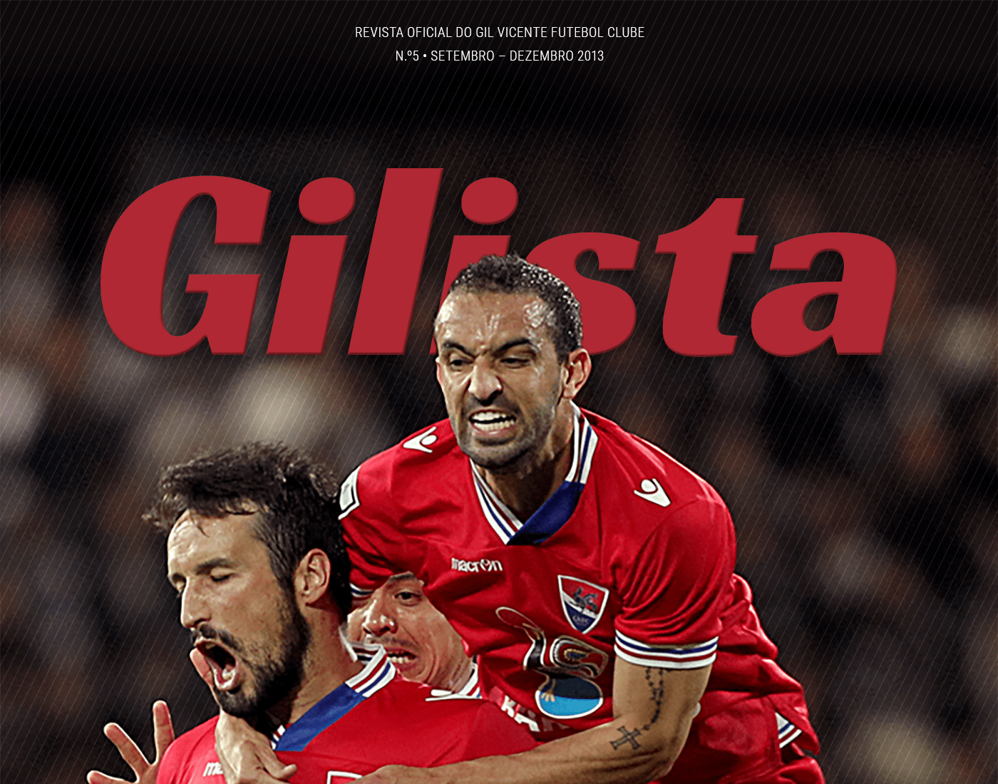 gvfc gilista gil vicente soccer football futebol ISD clube revista magazine N5