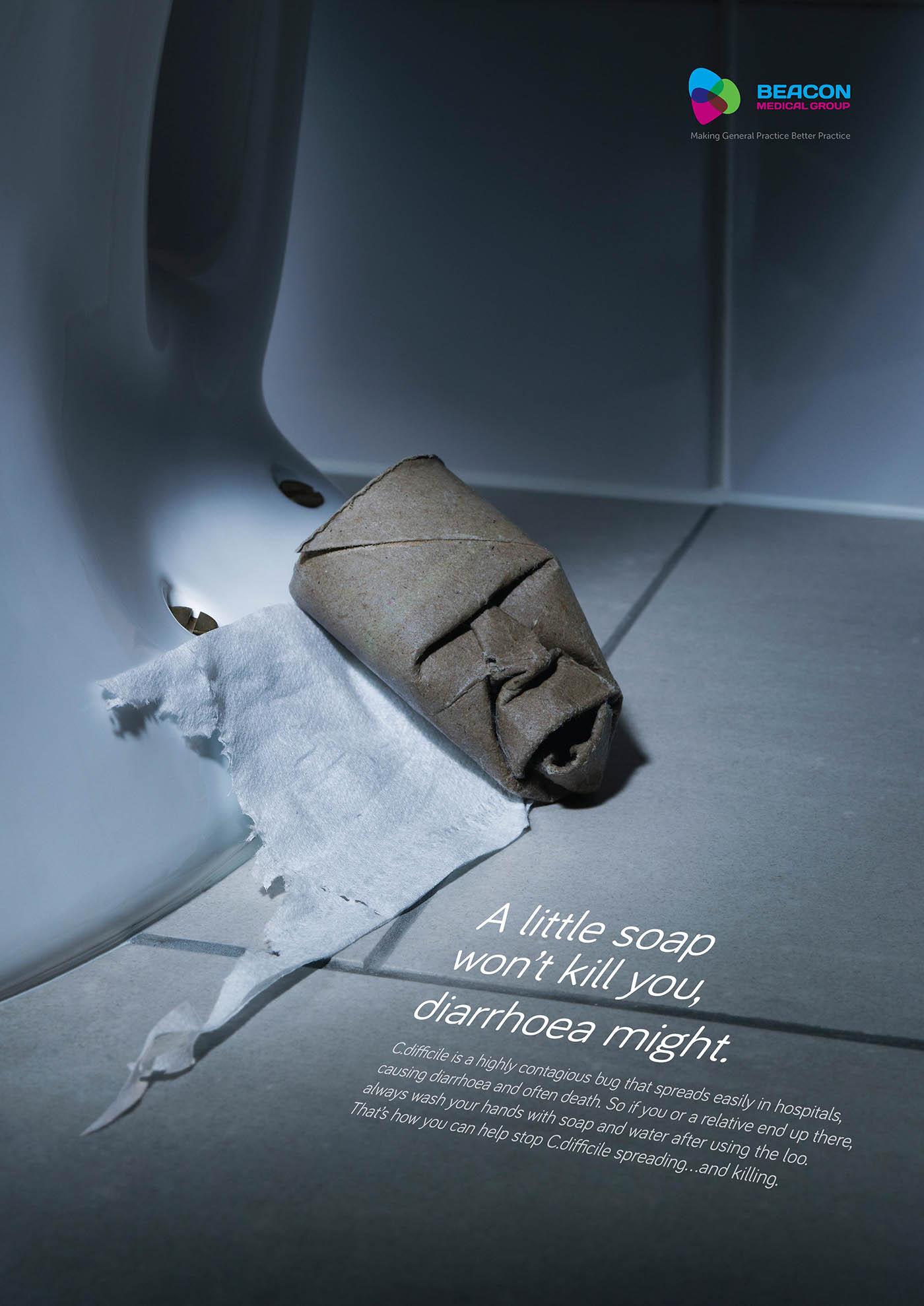 Disease awareness poster Health advert