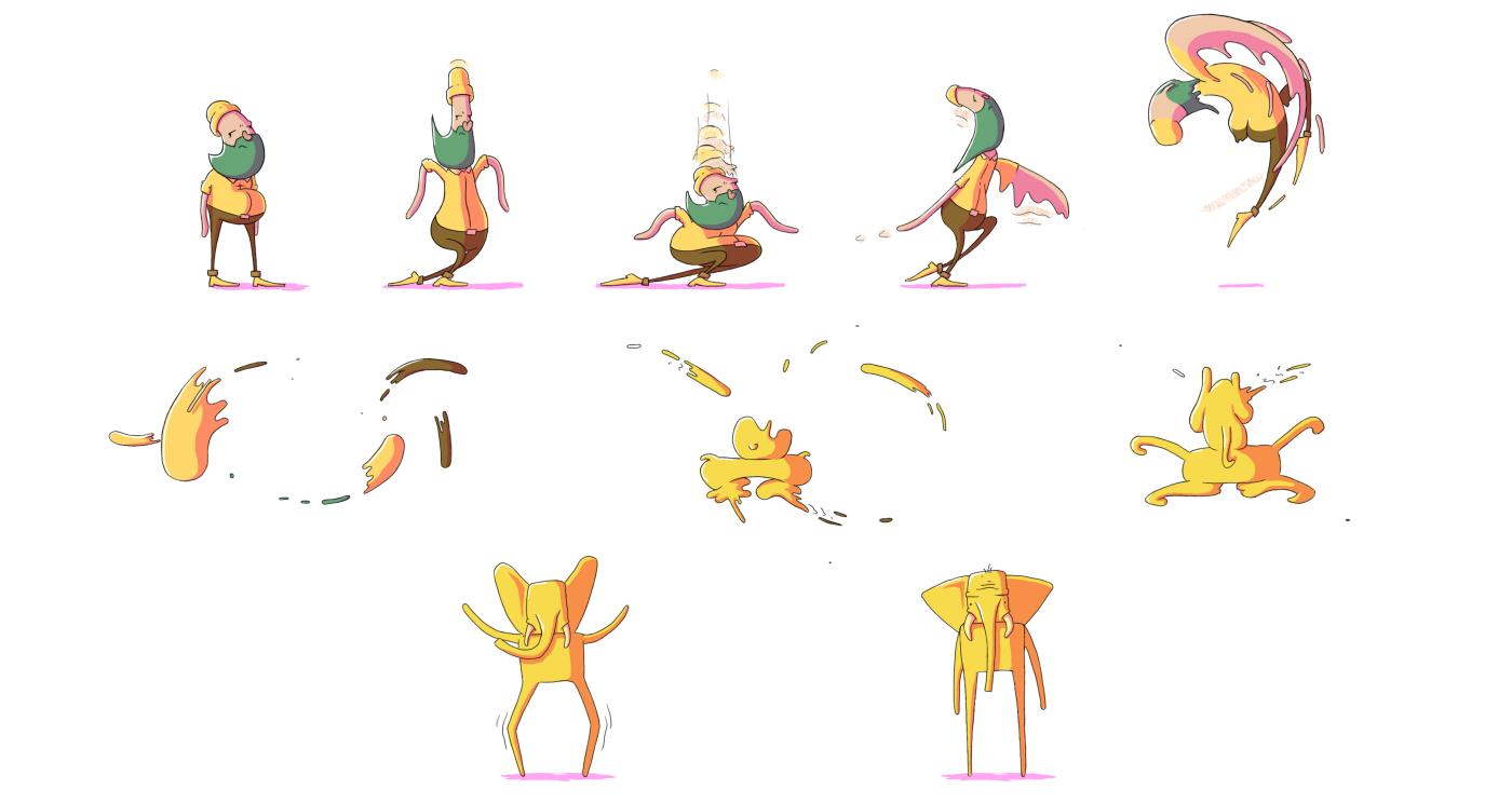 有設計感的30款逐格動畫設計欣賞