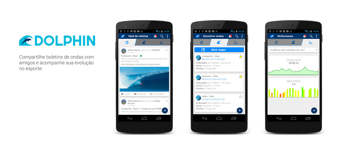Surf app sports uxdesign android