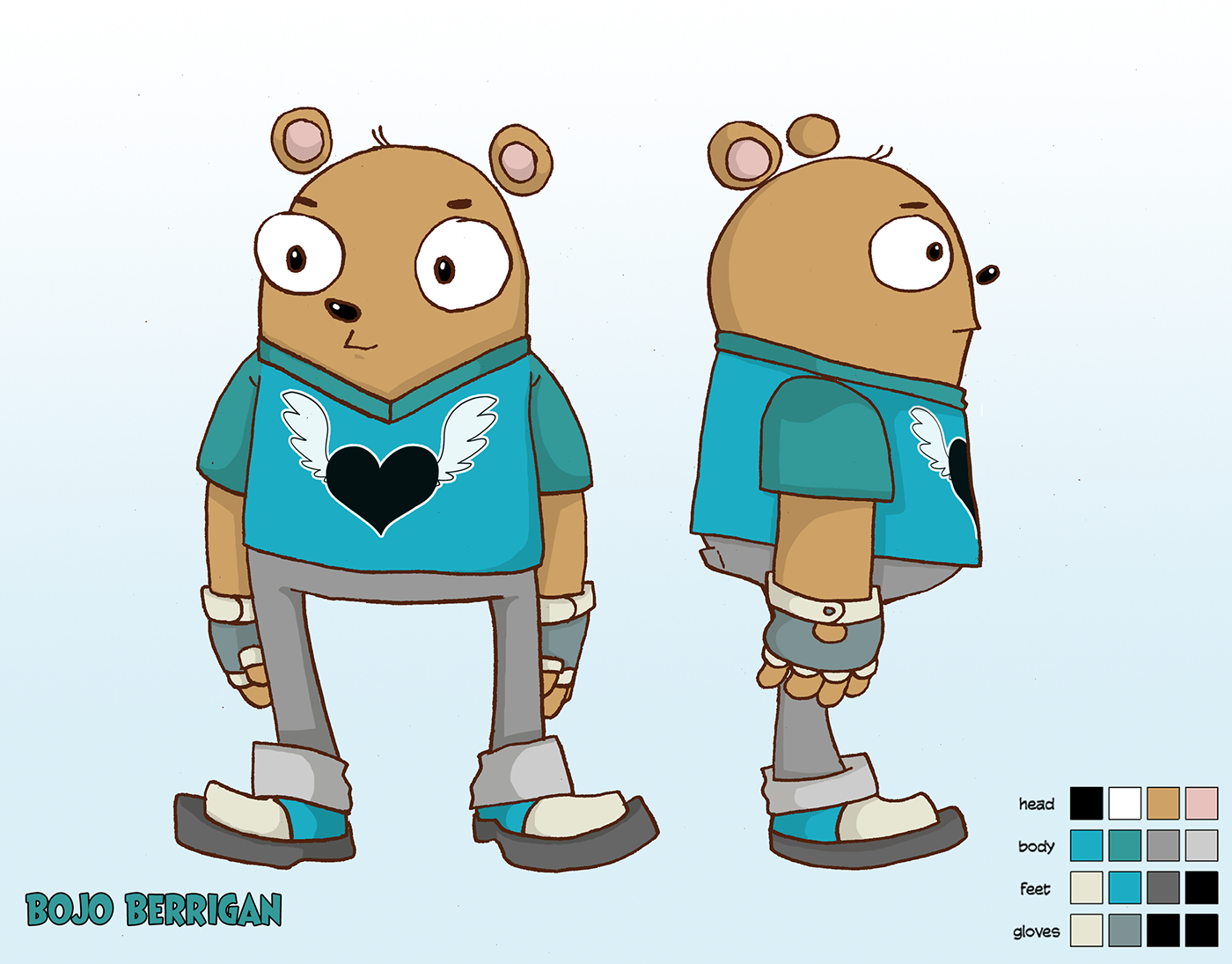 Character Design Jobs In Atlanta : Munch chunky character designs on behance
