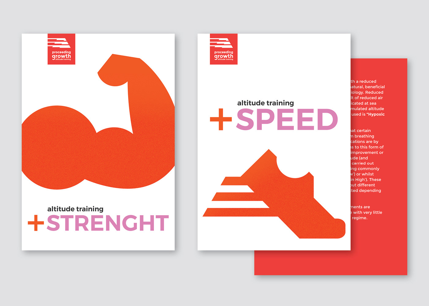 identity altitude training Performance speed strenght icons