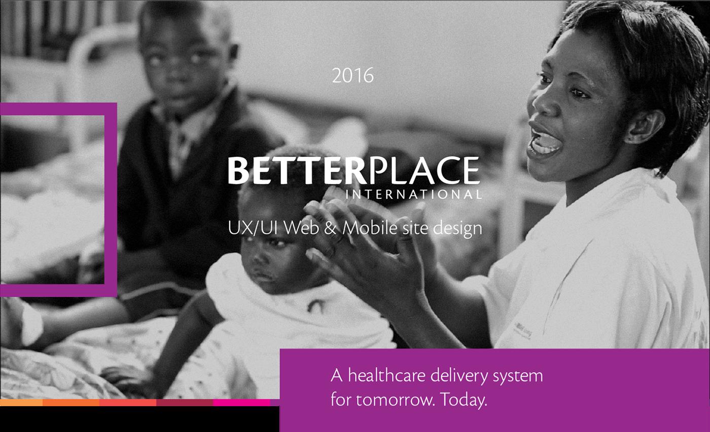 Website healthcare vision hospital emerging markets