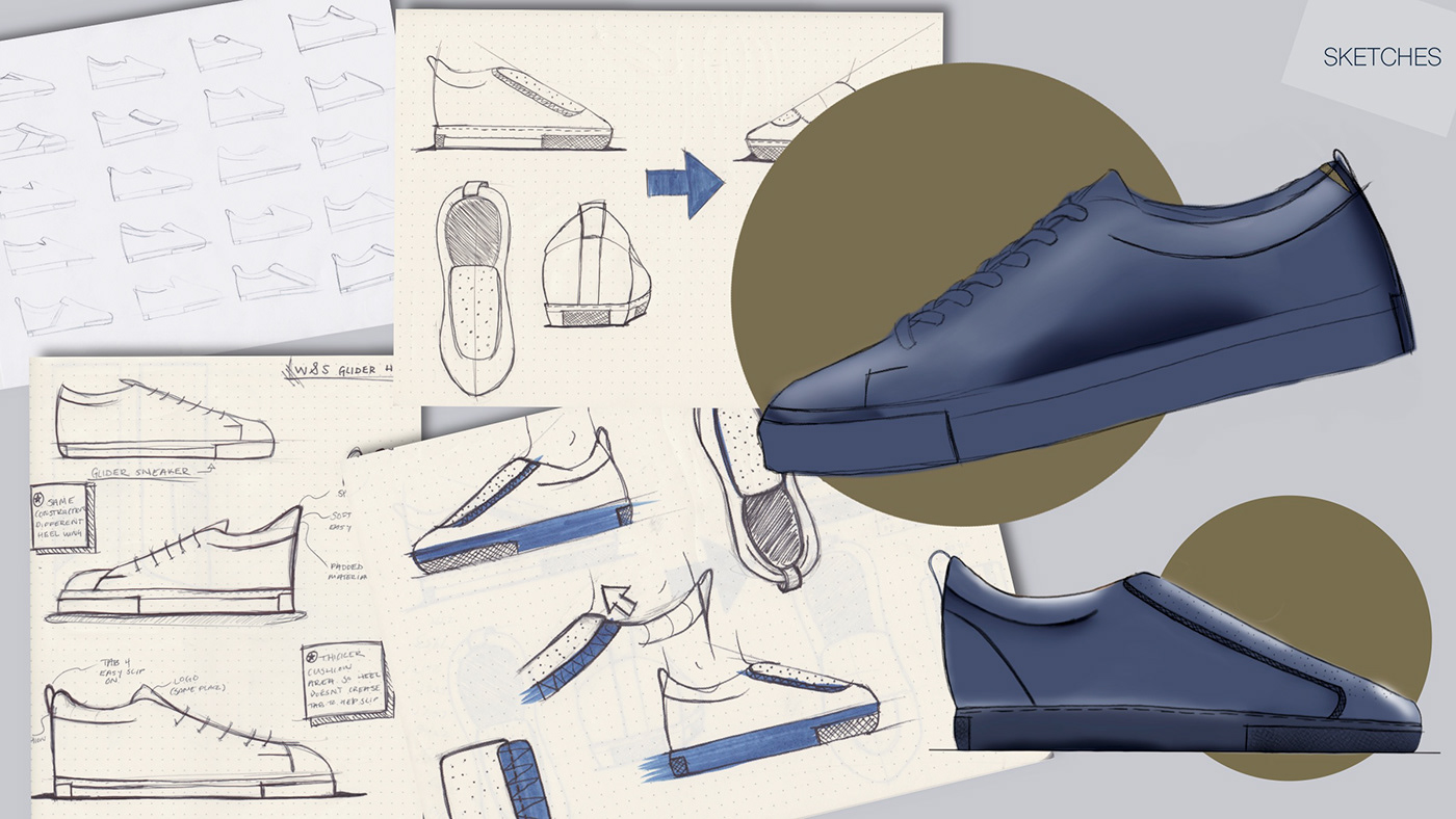 shoe design dress Project product