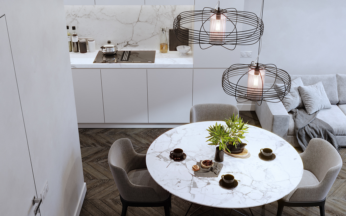 Interior Visualization,corona render ,3D Visualization,living room,bedroom