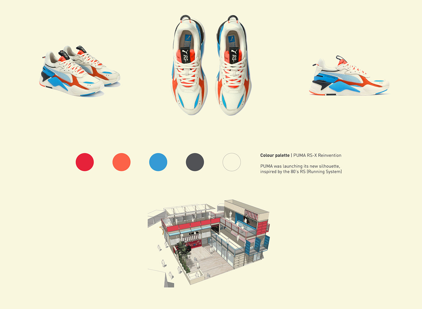 booth dubai hypebeast Murals sneakers soledxb Space design stand design typography
