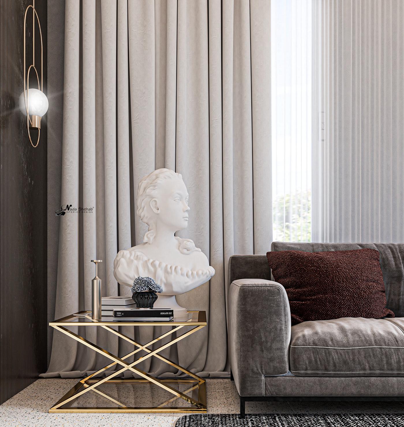 Hình ảnh có thể chứa: ghế sofa, trong nhà và rèm
