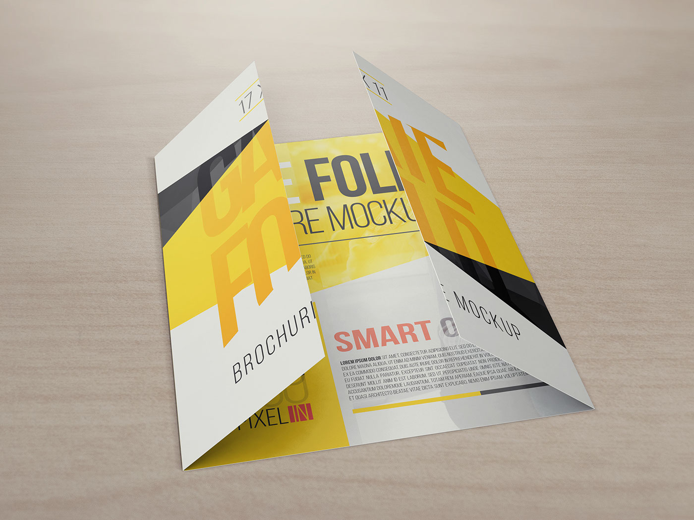 single fold leaflet