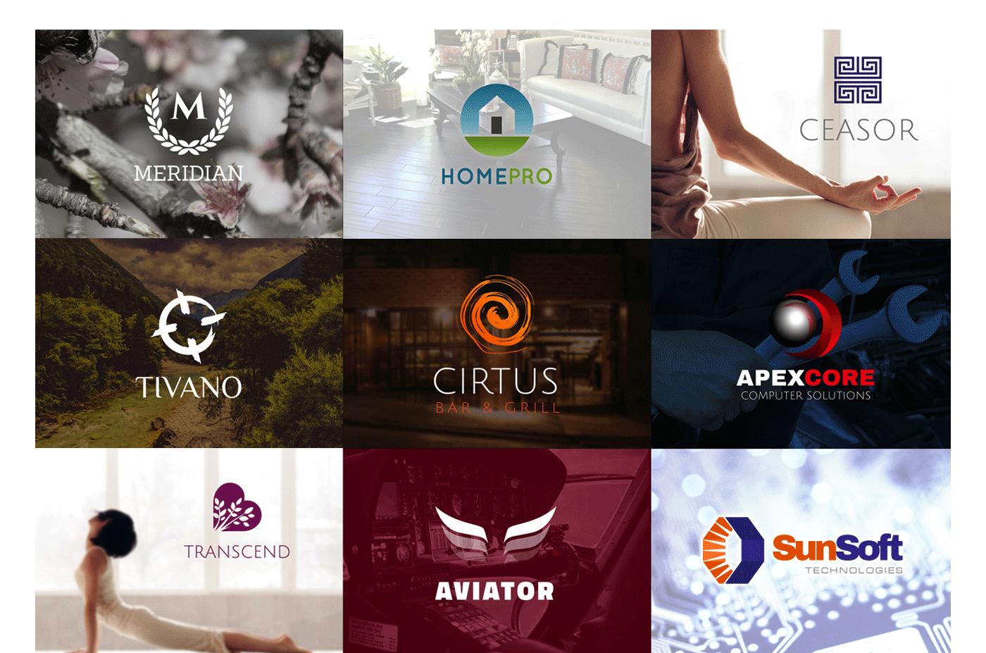 logo template branding  mock-up free bundle Design Assets Logo Design free logos branding mock-up