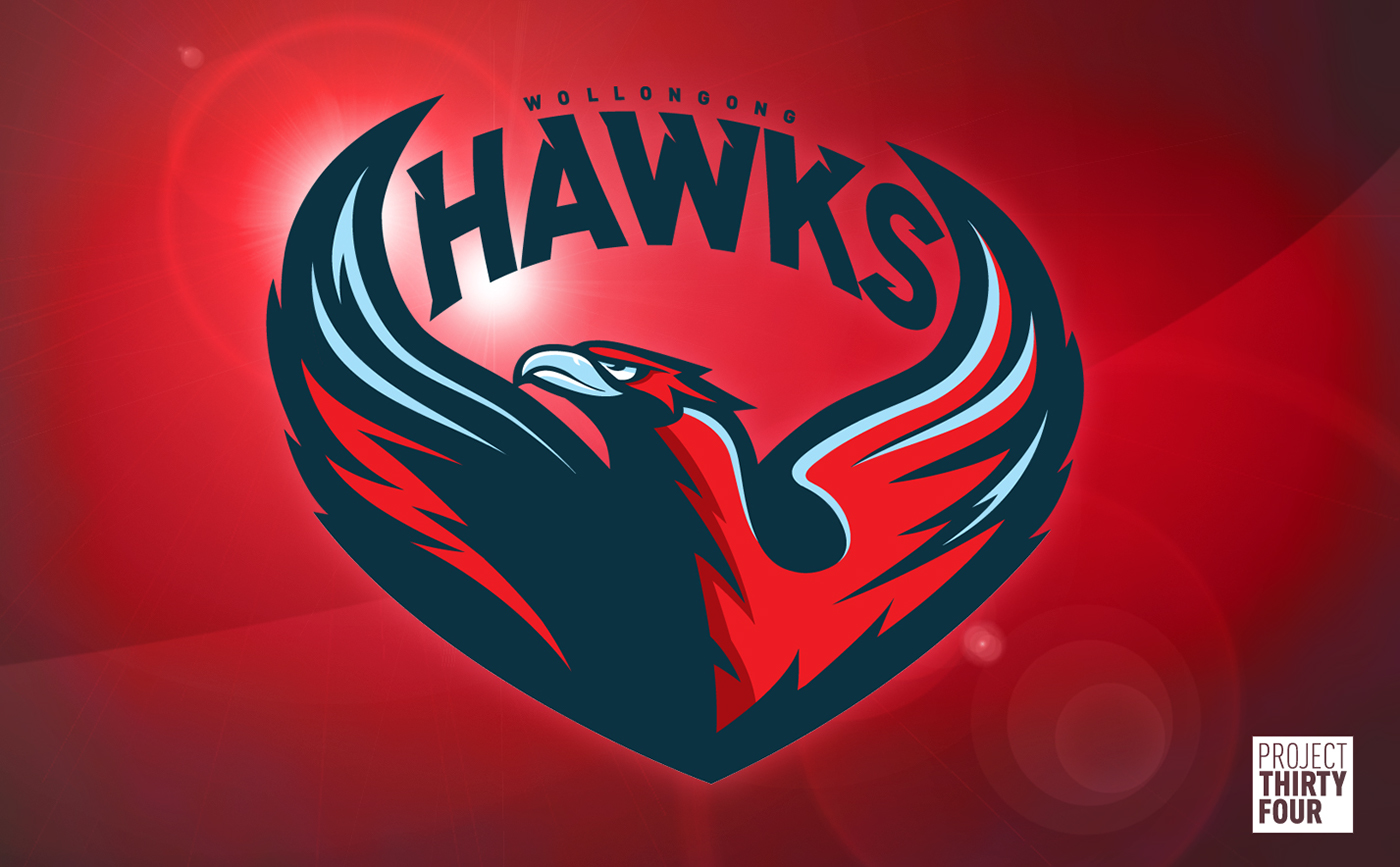 Wollongong Hawks Rebrand On Behance