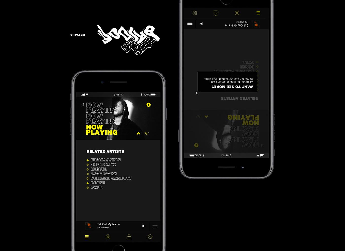music app app design article newsletter Email