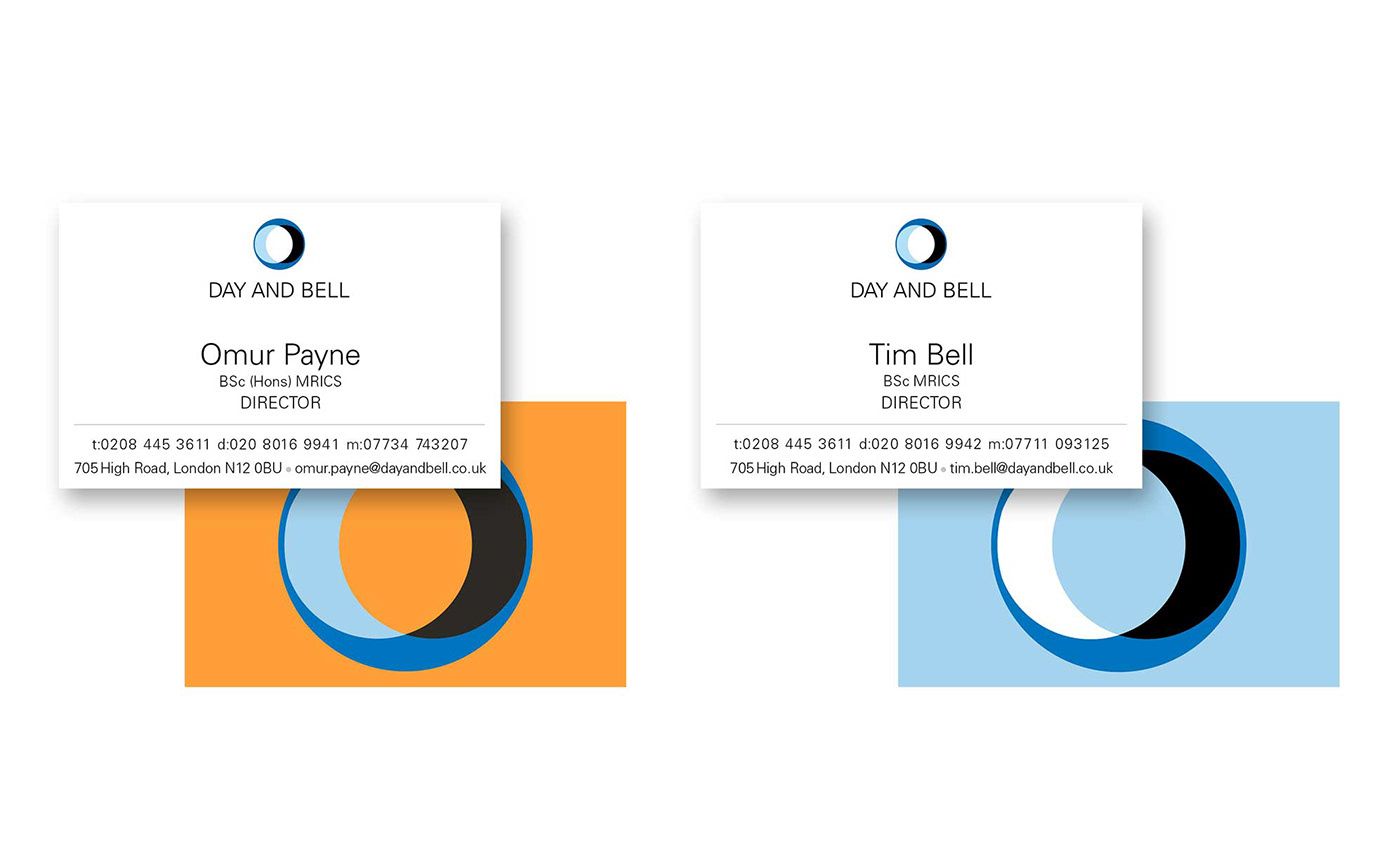 Day and Bell business cards
