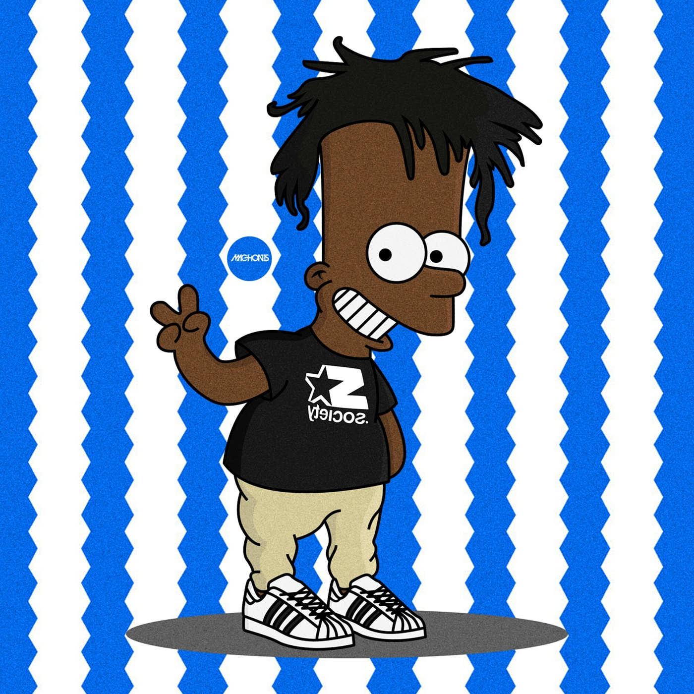 The Simpsons X Rap Icons