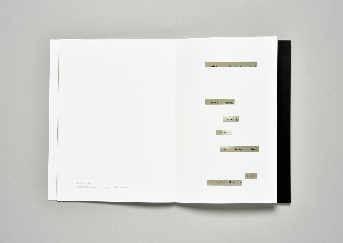 book buch demenz dementia Gedächtnis Krankheit Gesundheit fadenbindung