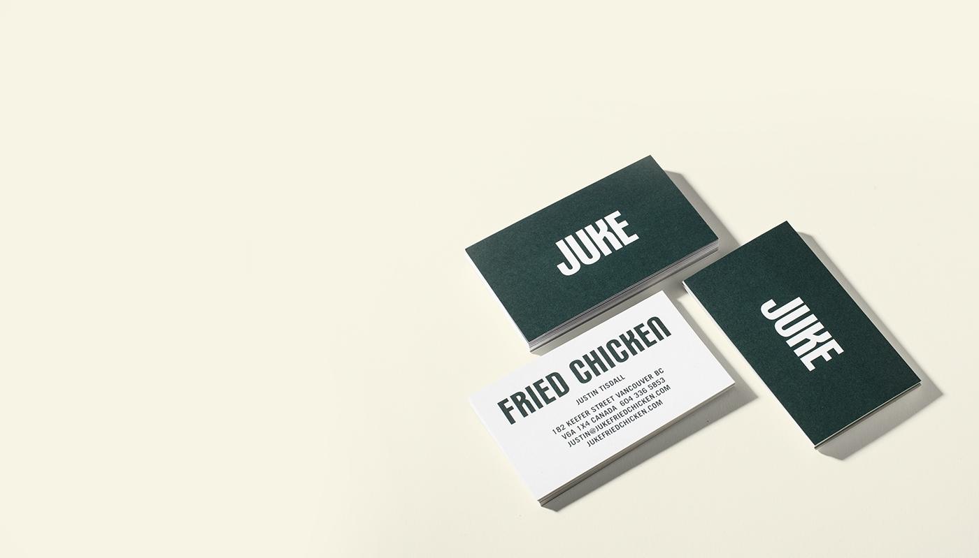 juke fried chicken on behance. Black Bedroom Furniture Sets. Home Design Ideas